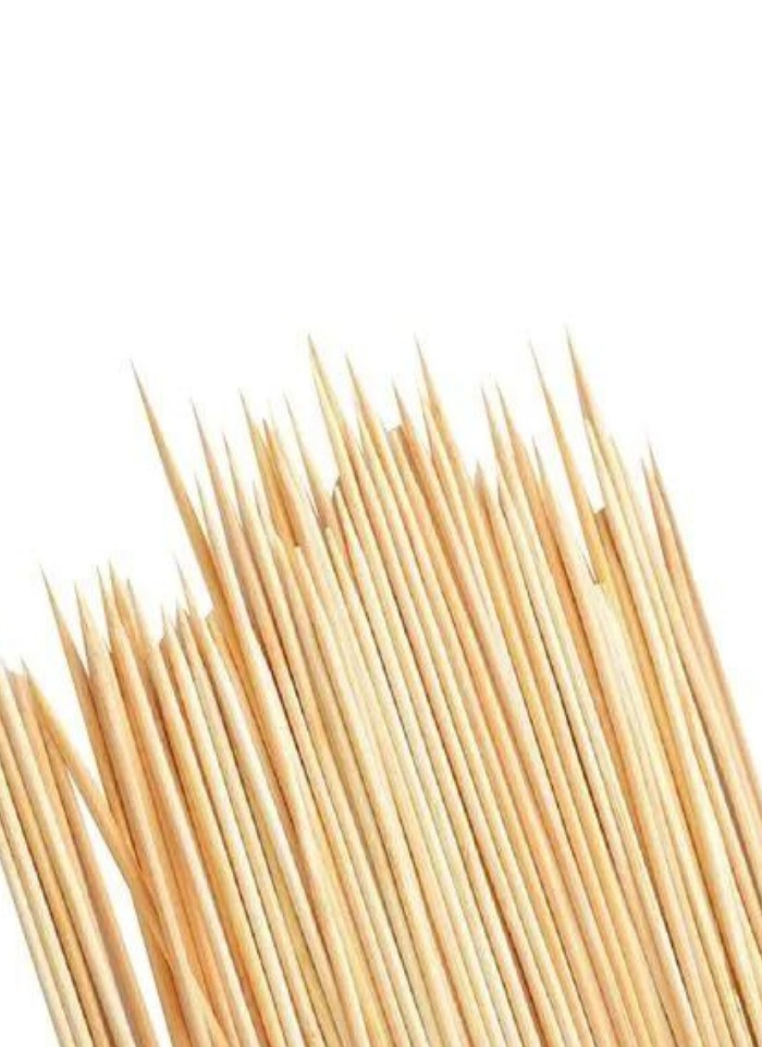 Wooden Biodegradable Skewer 8 inch pack of 80