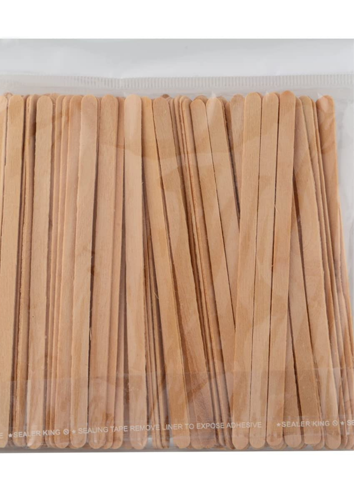 Wooden Biodegradable Coffee Stirrer 14 cm pack of 100