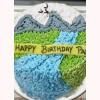Scenery Design Cake