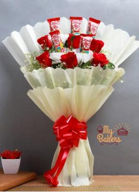 Breeze Of Sweetness Chocolate Bouquet