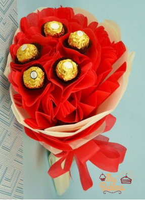 Delectable Ferreo Rocher Chocolate Bouquet