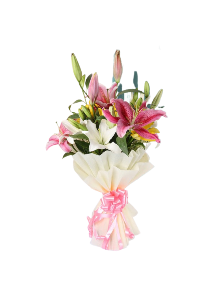 Exotic Asiatic Lily Bouquet