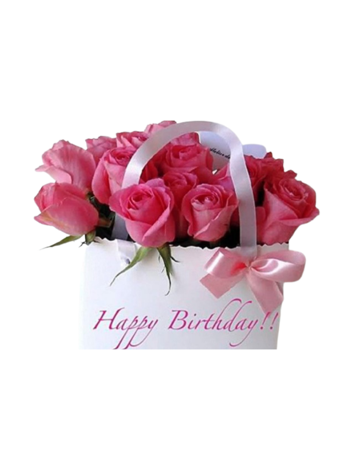 Birthday Special Pink Roses