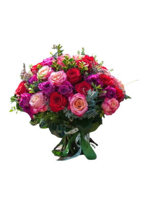 Colorful Roses Bunches