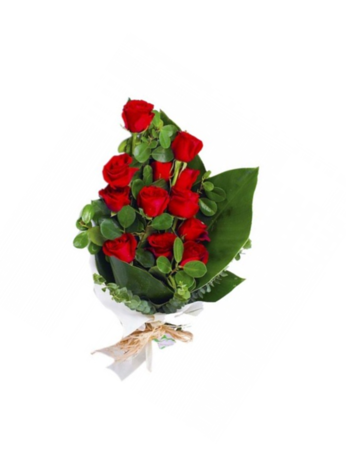 Exotic Red Love Rose Bouquet