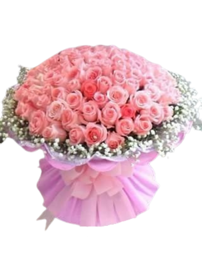 Extreme Pink Roses Bouquet