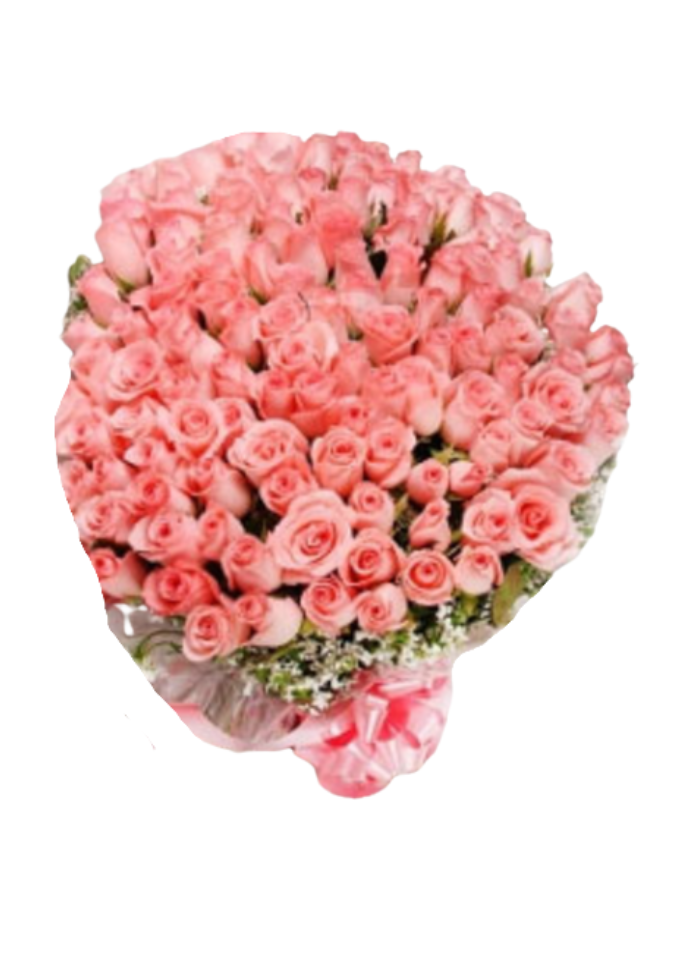 Lots of Pink Rose Bouquet