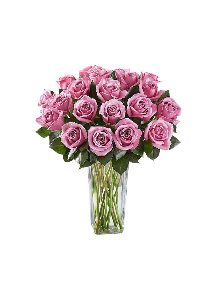Passion for Purple Rose Bouquet