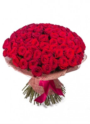 Red Roses Bouquet Extreme