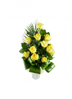 Strength of Yellow Rose Bouquet