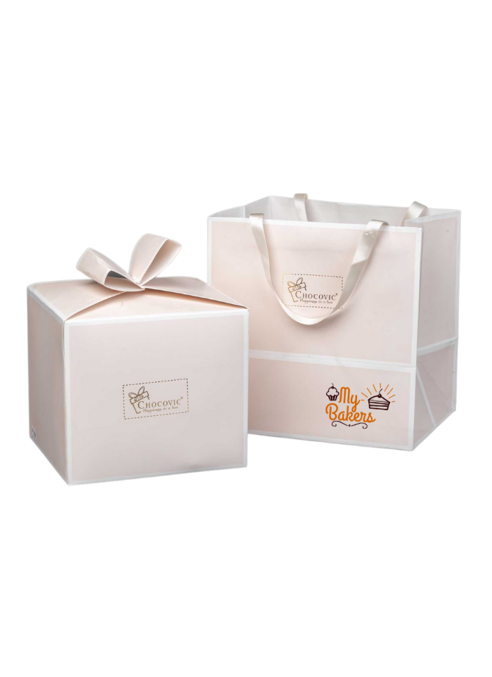 Premium Cream Packaging Gift Hamper
