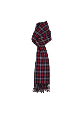 Gift Premium Purewool Muffler Square Red