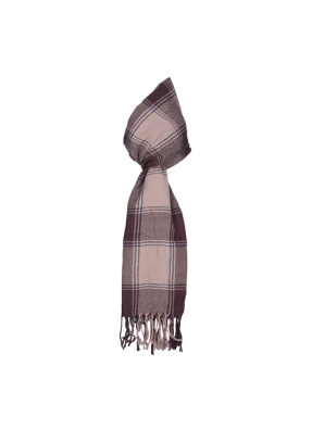 Gift Purewool Muffler Designer Brown