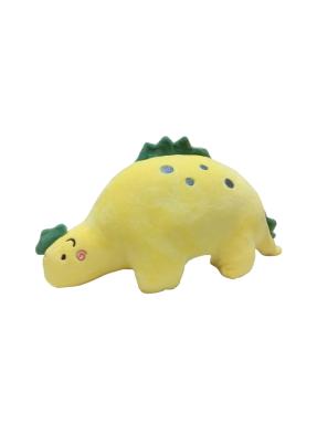 Dinosaur Sleeping Soft Toy 35 cm Yellow
