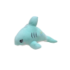 Dolphin Soft Toy 33 cm White Green