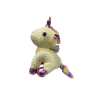 Rainbow Arcus Unicorn Sitting Soft Toy 34 cm Yellow