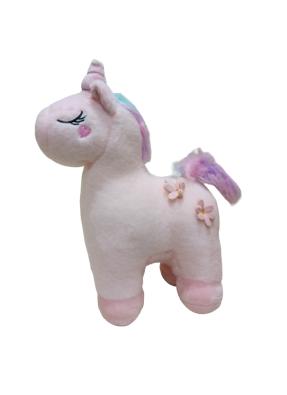 Unicorn Plush Soft Toy 34 cm Pink