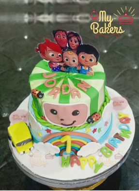 First Birthday Two Tier Cake