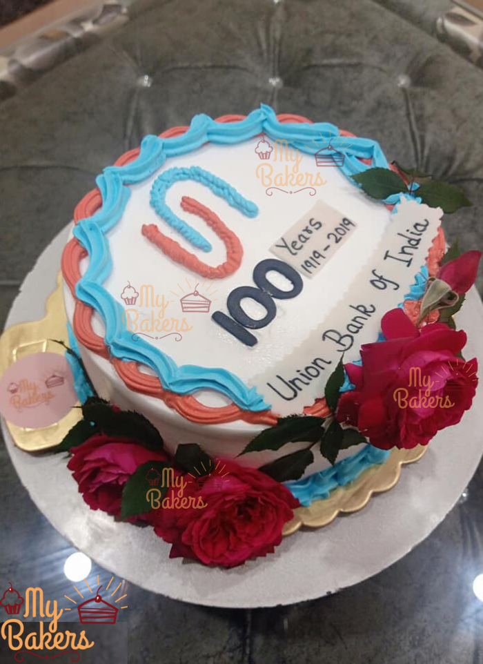 Exclusive 100 Year Celebration Cake