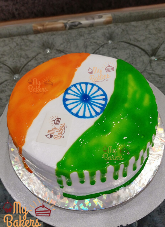 Independence Day Celebration Cake