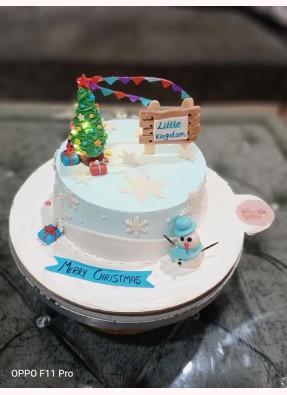 Christmas Theme Cake