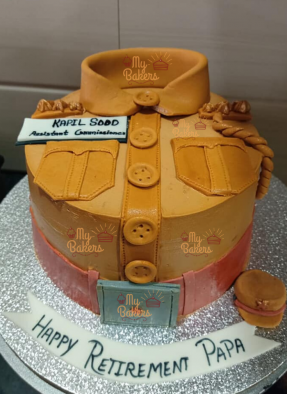 Exclusive Police Officer Theme cake