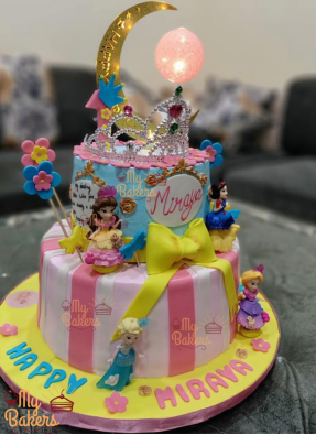 Best Barbie Doll Theme Birthday Cake