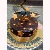 Golden Star Gold Theme Cake