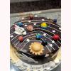 Universe Theme Cake