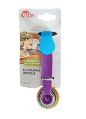 Measuring spoon set 5 pieces pack of 1