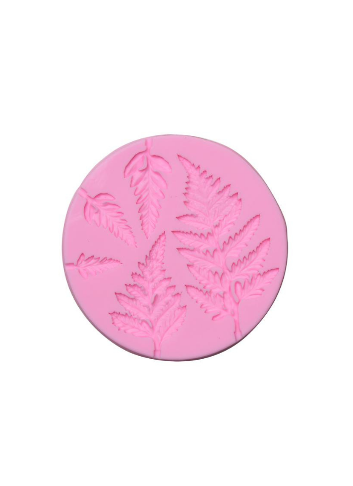 Silicone Marz Mould Leaf Shape Round pack of 1