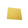 Cake Base Square 10 Pieces Golden 12 inch Pack of 1