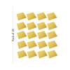 Cake Base Square 20 Pieces Golden 10 inch Pack of 1