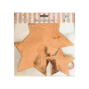 Star paper hanging 3D 11 pieces Rose Gold pack of 1