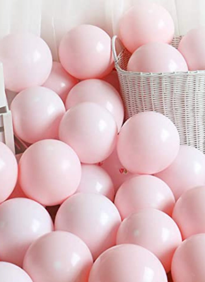 Macron Pestal Color Pink Balloon 100 Pieces 14 inch pack of 1
