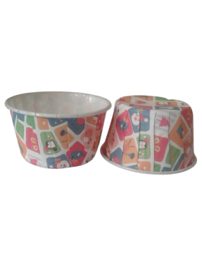 Muffin Cups Multi Color 100 ml pack of 100