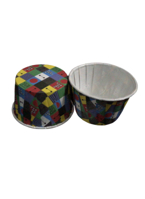 Muffin Cups Multi Color 70 ml pack of 100