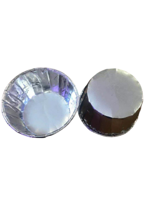 Muffin Cups Silver 100 ml pack of 50