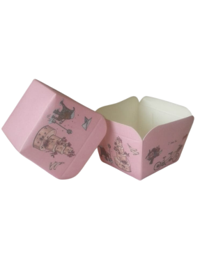 Square Cups Pink 100 ml pack of 50