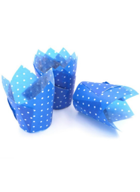 Tulip Cups Blue 120 ml pack of 100