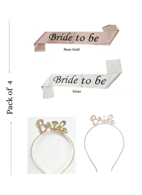 Bride To Be Headband and Sash pack of 1