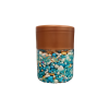 Blue White Heart Pearl Balls pack of 150 gram