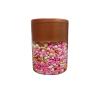 Pink Golden Heart Pearl Balls pack of 150 gram