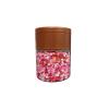 Pink Red White Sprinkles 4 mm pack of 100 gram