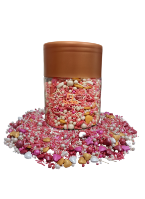 Red Pink Pearl balls pack of 150 gram