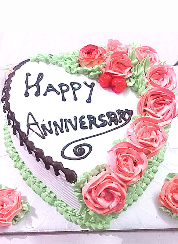 Cake for Anniversary (Mix Fruit)