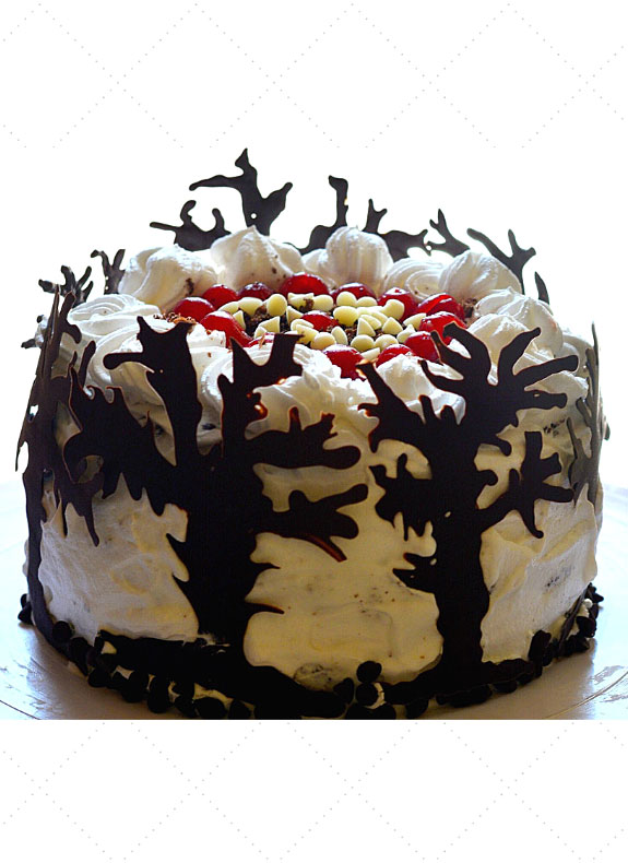 Black Forest Chocolate Cake