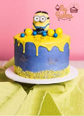 Delicious Minion Cake