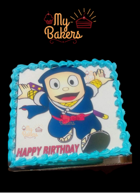 Ninja Hathori Photo Cake