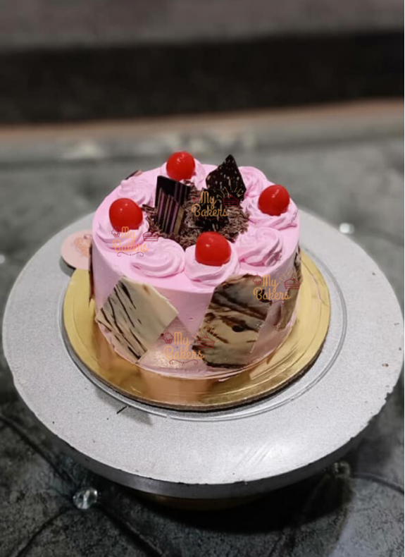 Delicious Pink Beauty Cake